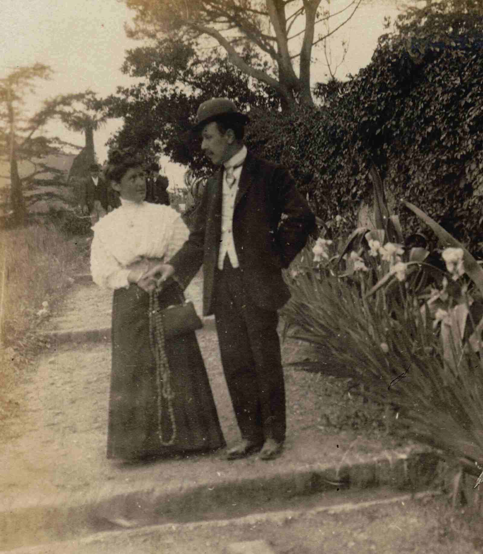 1 - Guido Guido and his wife Cesira 1910